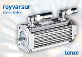Aplicación de servomotores Lenze. Reyvarsur: Todo en Dispensing y Transmisión. Reductores y variadores electrónicos. Visite tienda online.